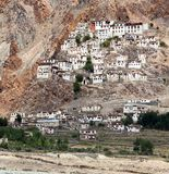 Gompa Karsha - βουδιστικό μοναστήρι στην κοιλάδα Zanskar Στοκ Εικόνες
