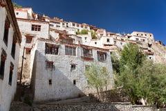 Gompa Karsha - βουδιστικό μοναστήρι στην κοιλάδα Zanskar - Ladakh - Ινδία Στοκ φωτογραφίες με δικαίωμα ελεύθερης χρήσης