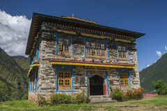 Gompa Stock Images