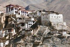 Gompa Lamayuru - βουδιστικό μοναστήρι στην κοιλάδα Indus Στοκ Εικόνες