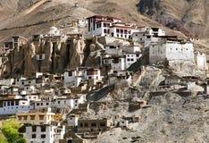 Gompa Lamayuru - βουδιστικό μοναστήρι στην κοιλάδα Indus Στοκ εικόνες με δικαίωμα ελεύθερης χρήσης