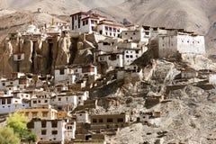 Gompa Lamayuru - βουδιστικό μοναστήρι στην κοιλάδα Indus Στοκ φωτογραφίες με δικαίωμα ελεύθερης χρήσης