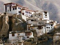 Gompa Lamayuru - βουδιστικό μοναστήρι στην κοιλάδα Indus - Ladakh - Ινδία Στοκ φωτογραφία με δικαίωμα ελεύθερης χρήσης