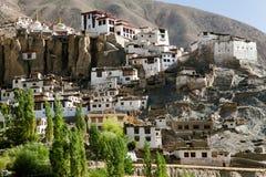 Gompa Lamayuru - βουδιστικό μοναστήρι στην κοιλάδα Indus - Ladakh - Ινδία Στοκ Εικόνες