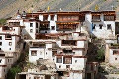 Gompa Lingshed - βουδιστικό μοναστήρι στην κοιλάδα Zanskar Στοκ εικόνες με δικαίωμα ελεύθερης χρήσης