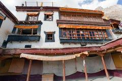 Gompa Lingshed - βουδιστικό μοναστήρι στην κοιλάδα Zanskar - Ladakh - Ινδία Στοκ Εικόνες