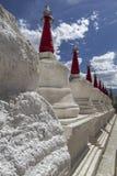 Gompas in Ladakh, India Stock Image