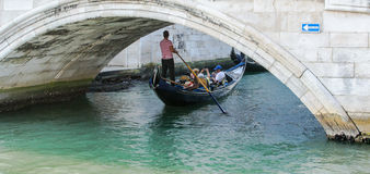 Gondalas. Famous Gondalas in Venice Italy Stock Image