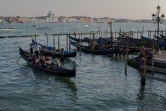Gondalas. Famous Gondalas in Venice Italy Stock Images
