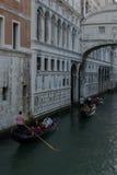 Gondalas. Famous Gondalas in Venice Italy Royalty Free Stock Image
