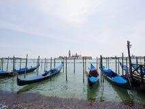 Gondalas in Venetië, Italië Royalty-vrije Stock Afbeelding