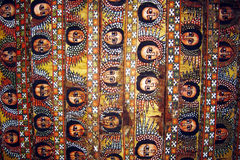 Gondar ceiling Royalty Free Stock Images