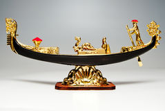 Gondel royalty-vrije stock afbeelding