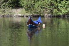 Gondel, de Boot van Venetië Royalty-vrije Stock Foto