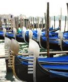 Gondel van Venetië Italië Royalty-vrije Stock Fotografie