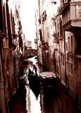 Gondel in Venedig Stockfoto