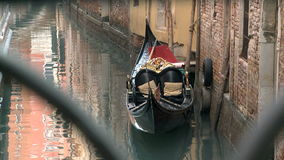 Gondel in Venedig stock video footage