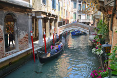 Gondel in Venedig Lizenzfreies Stockbild