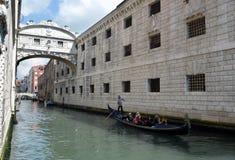 Gondel in Venedig Stockbilder