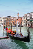 Gondel in Venedig Stockfotos