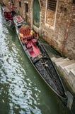 Gondel in Venedig Lizenzfreie Stockfotos