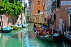 Gondel in Venedig Lizenzfreie Stockbilder