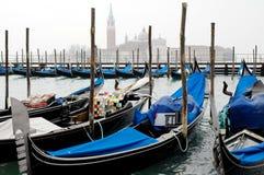 Gondel in Venedig Italien Stockfotografie