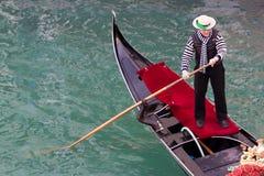 Gondel Venetië Stock Fotografie