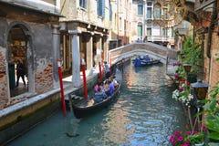 Gondel in Venetië Royalty-vrije Stock Afbeelding