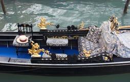 Gondel in Venetië Stock Foto