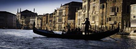Gondel in Venetië Royalty-vrije Stock Foto's