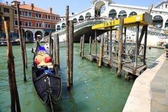 Gondel in Venetië, Italië Royalty-vrije Stock Afbeelding