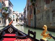 Gondel, Venetië - Italië Stock Foto's