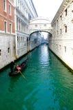 Gondel Venetië Italië Royalty-vrije Stock Foto