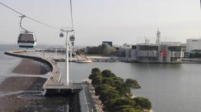 Gondelbahn Lissabon, Portugal europa Stockfoto