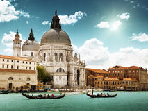 Gondeln in Venedig Lizenzfreie Stockfotos