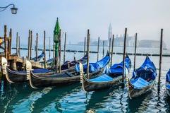 Gondeln, Venedig Stockfotografie
