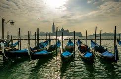 Gondeln Venedig Lizenzfreies Stockfoto