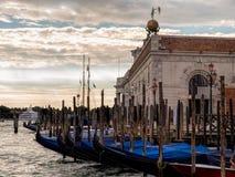 Gondeln in Venedig, Italien Stockfotografie