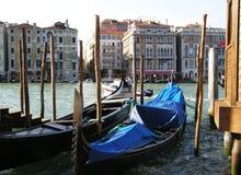 Gondeln von Venedig, Italien Stockbilder