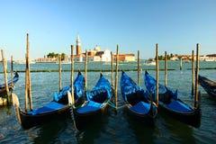 Gondelparken, Venedig Lizenzfreie Stockfotos
