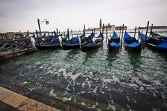 Gondels dichtbij San-Marco Stock Fotografie