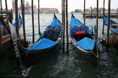Gondels van Venetië Royalty-vrije Stock Foto's