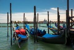 Gondels in Venetië Stock Fotografie