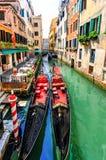 Gondels Venetië Royalty-vrije Stock Foto's