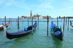 Gondels Venetië Stock Fotografie