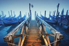 Gondels, Venetië - Italië Royalty-vrije Stock Afbeelding