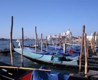 Gondels, Venetië, Italië. Royalty-vrije Stock Afbeeldingen