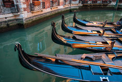 Gondels, Venetië, Italië Stock Afbeelding