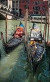 Gondels, Venetië, Italië Stock Afbeeldingen